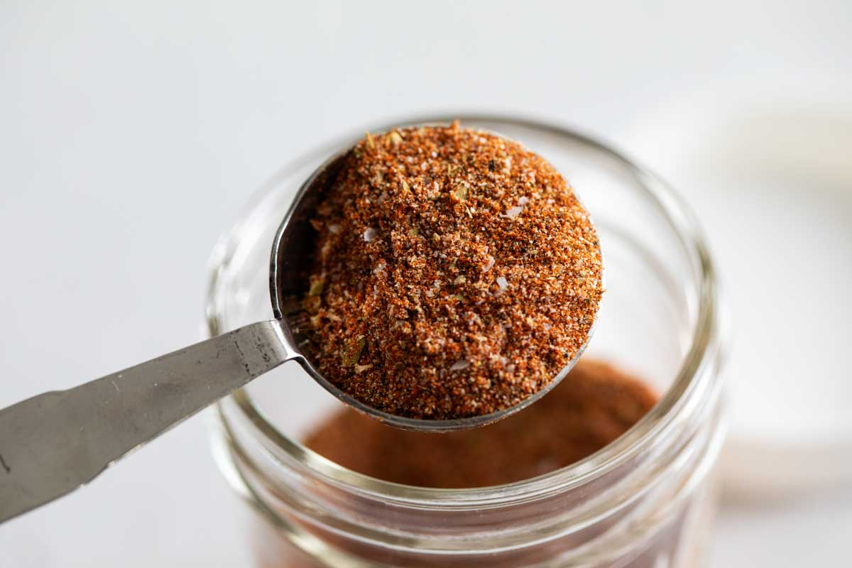 tablespoon full of spice mixture