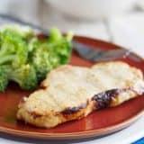grilled honey mustard pork chops