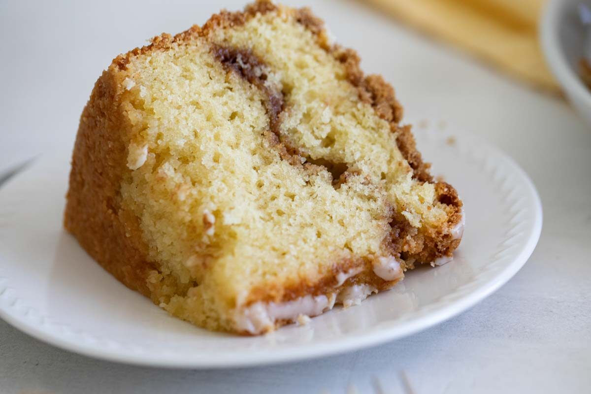 Sour Cream Coffee Cake Tender And Moist Taste And Tell
