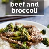 Beef and Broccoli with Text Overlay
