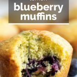 muffin with bite taken with text overlay