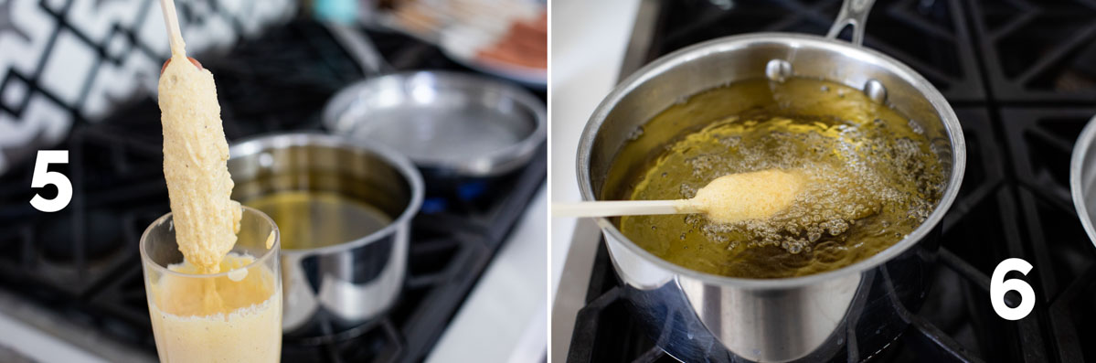 steps for corn dog recipe