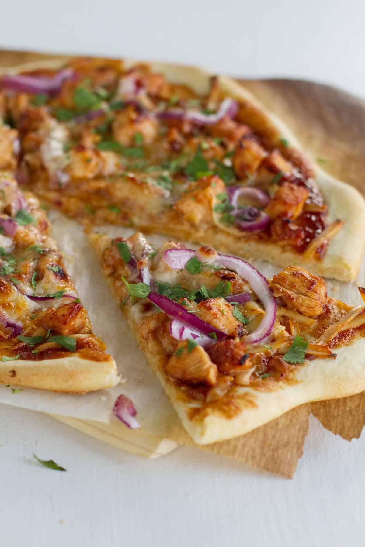 Slice of BBQ Chicken Pizza