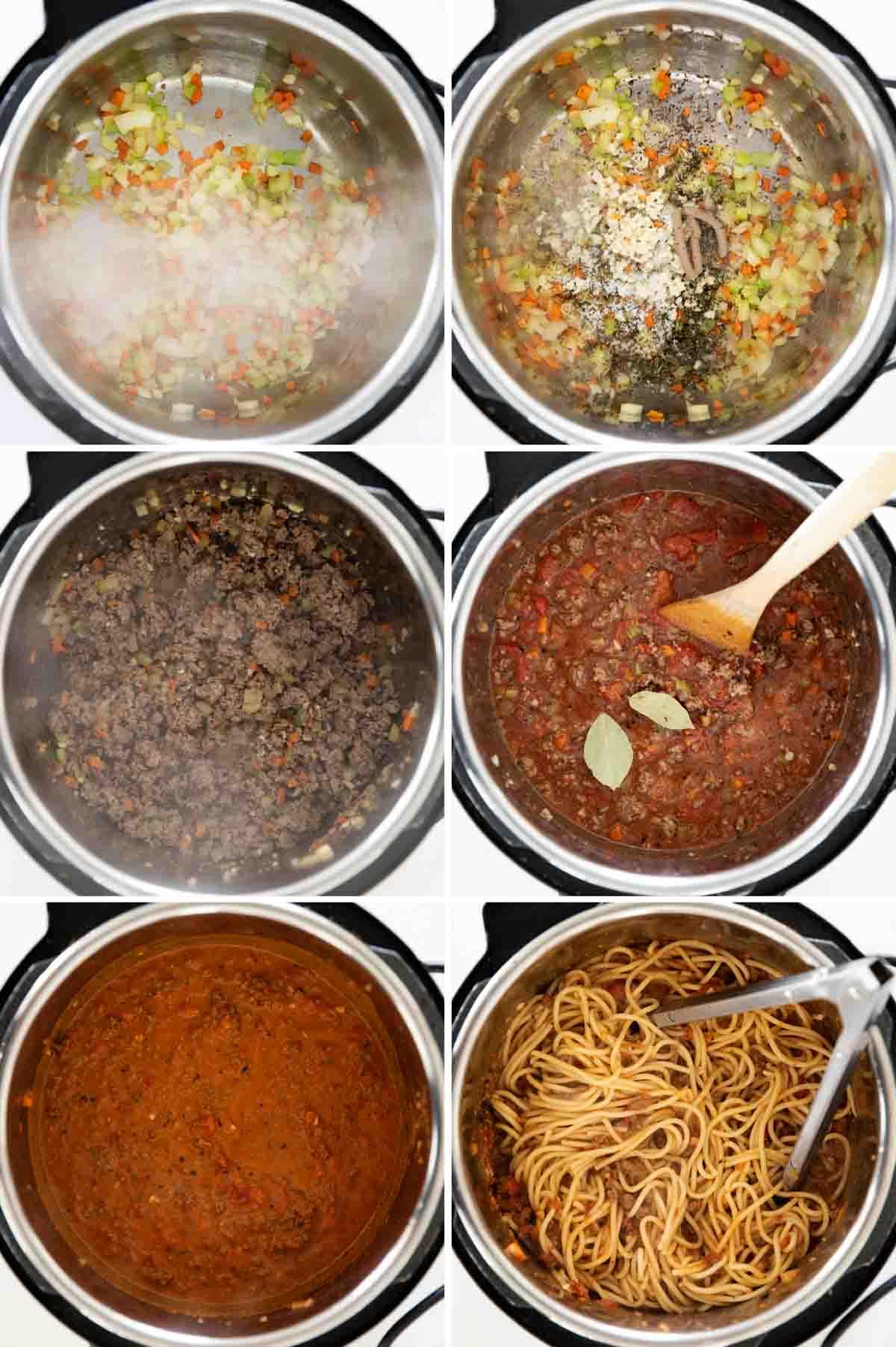 steps to make Instant Pot Bolognese Recipe