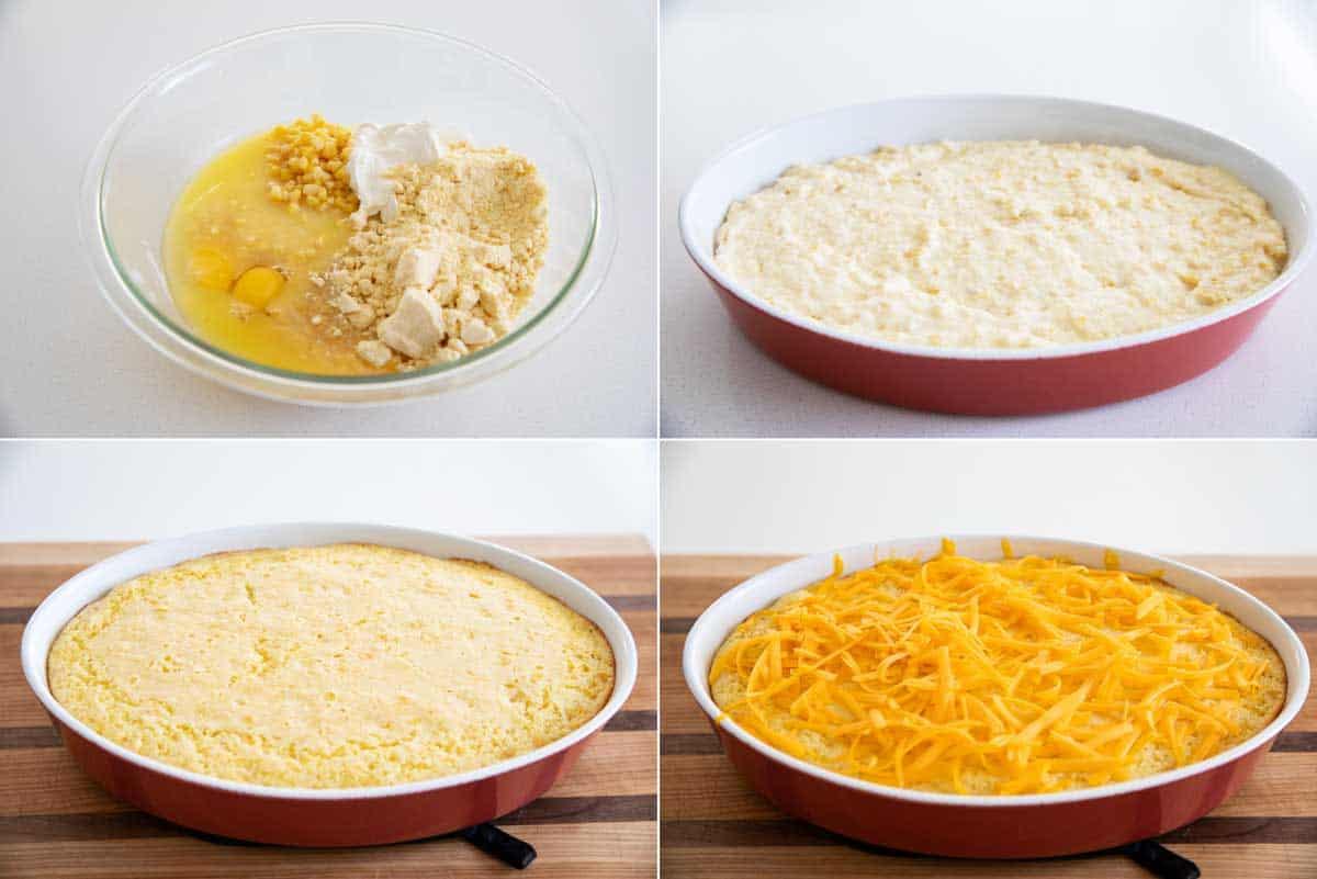 steps to make corn casserole