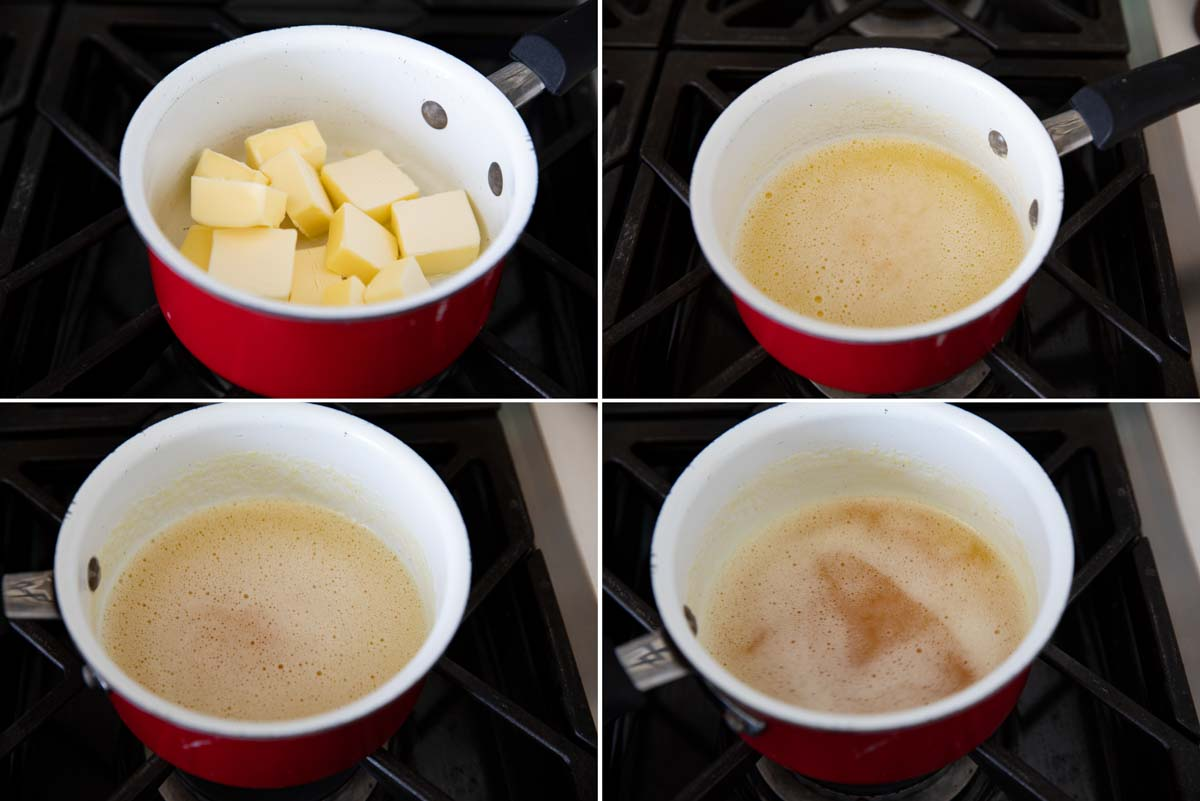 steps to make brown butter