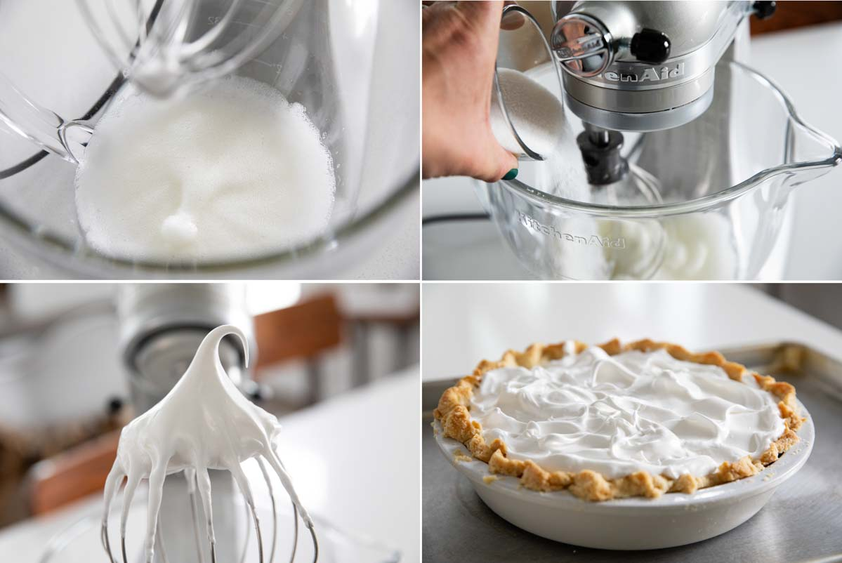 steps to make meringue