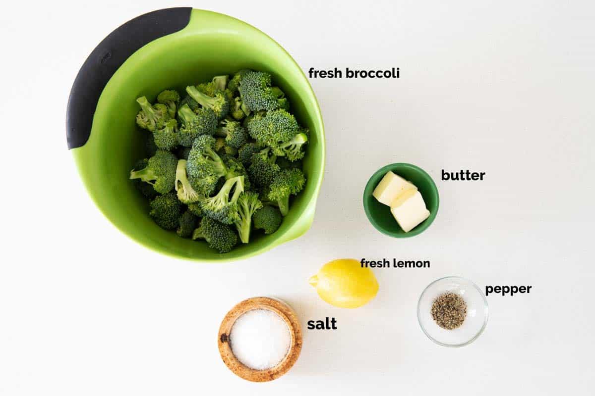 ingredients needed for lemon broccoli