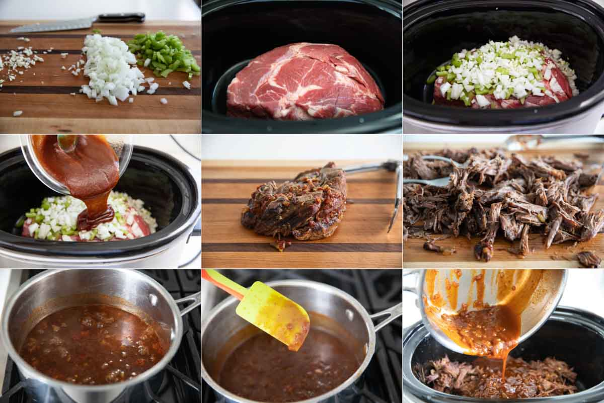 how to make slow cooker bbq beef sandwiches
