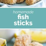 Fish Sticks with text in the middle