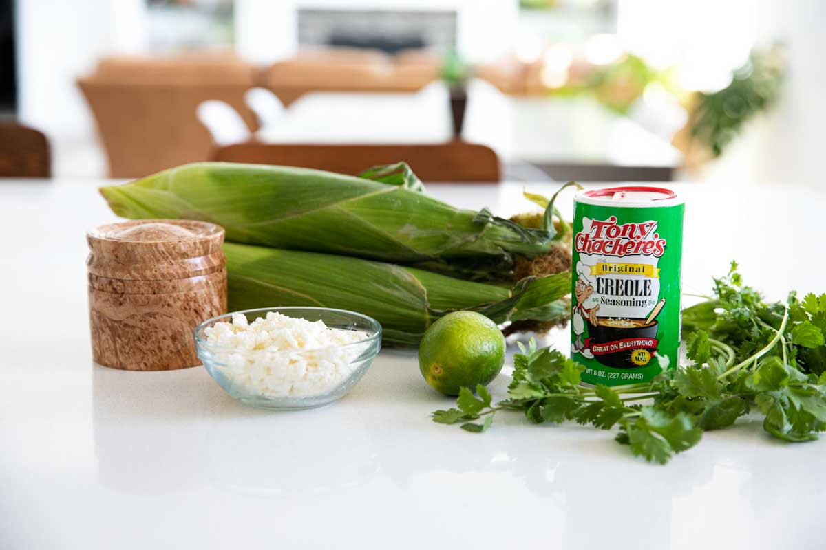 ingredients needed to make Mexican Corn Salad