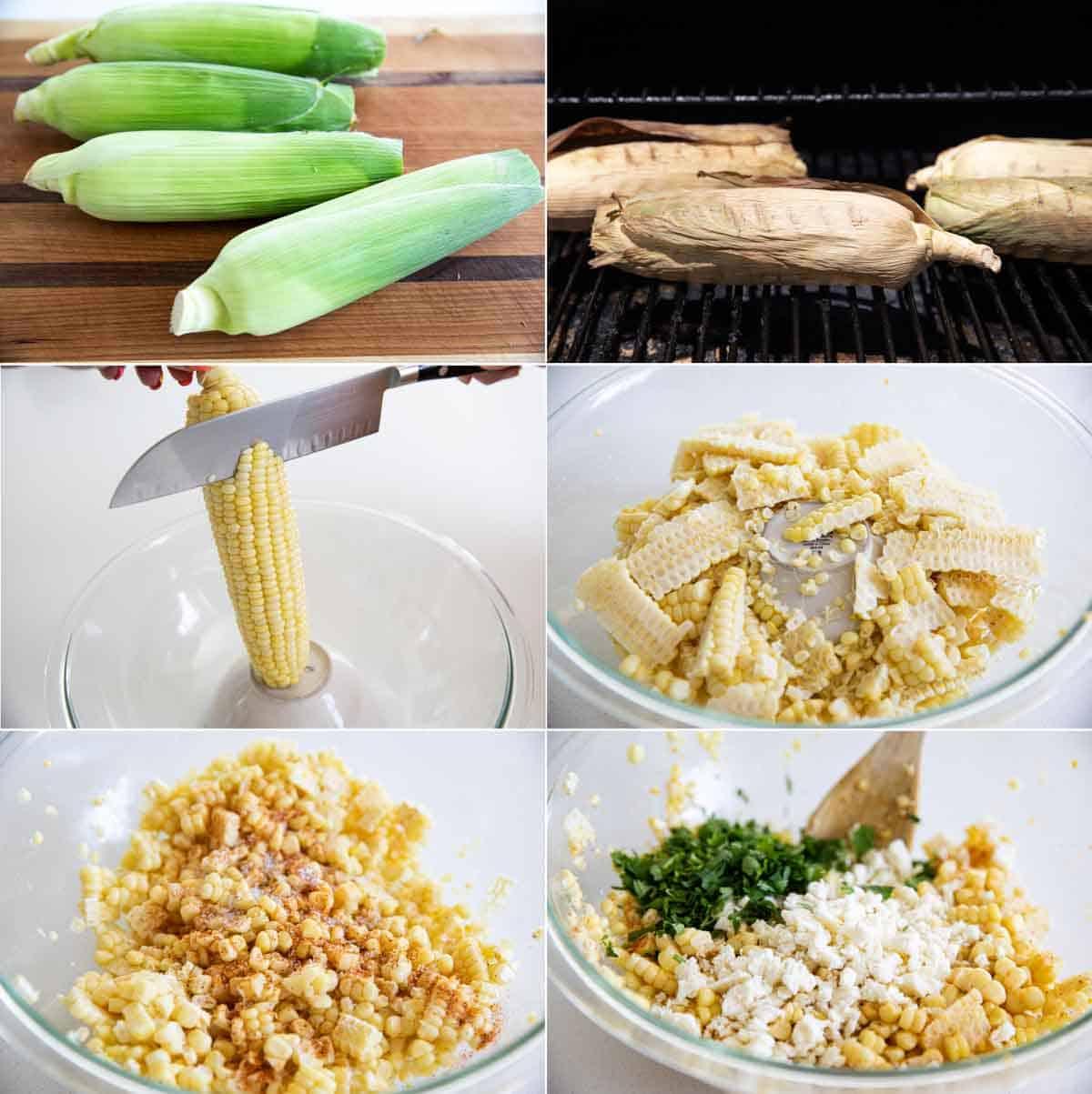 steps to make Mexican corn salad