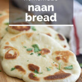 Naan Bread with text overlay