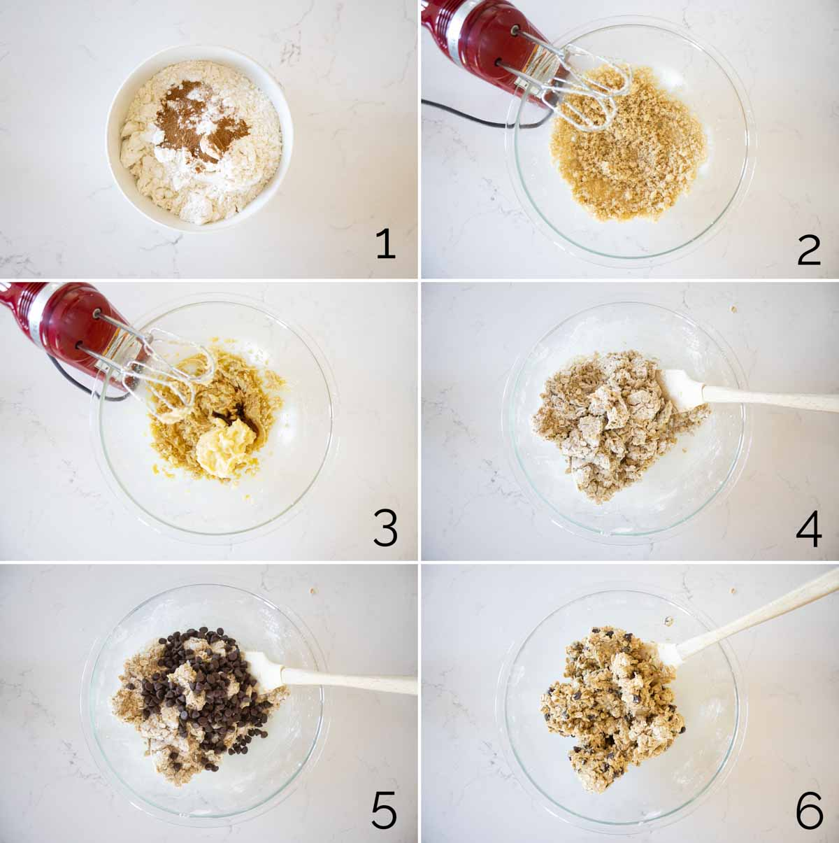 steps to make banana oatmeal cookies