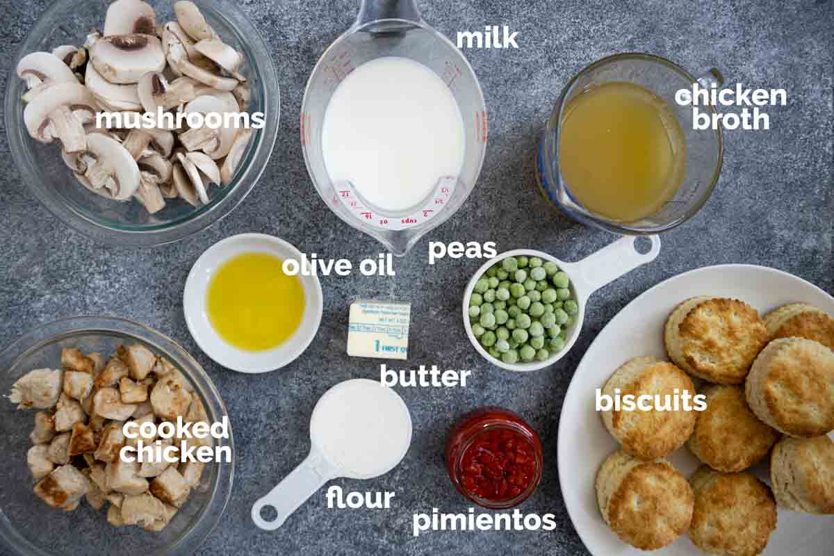 ingredients to make chicken a la king