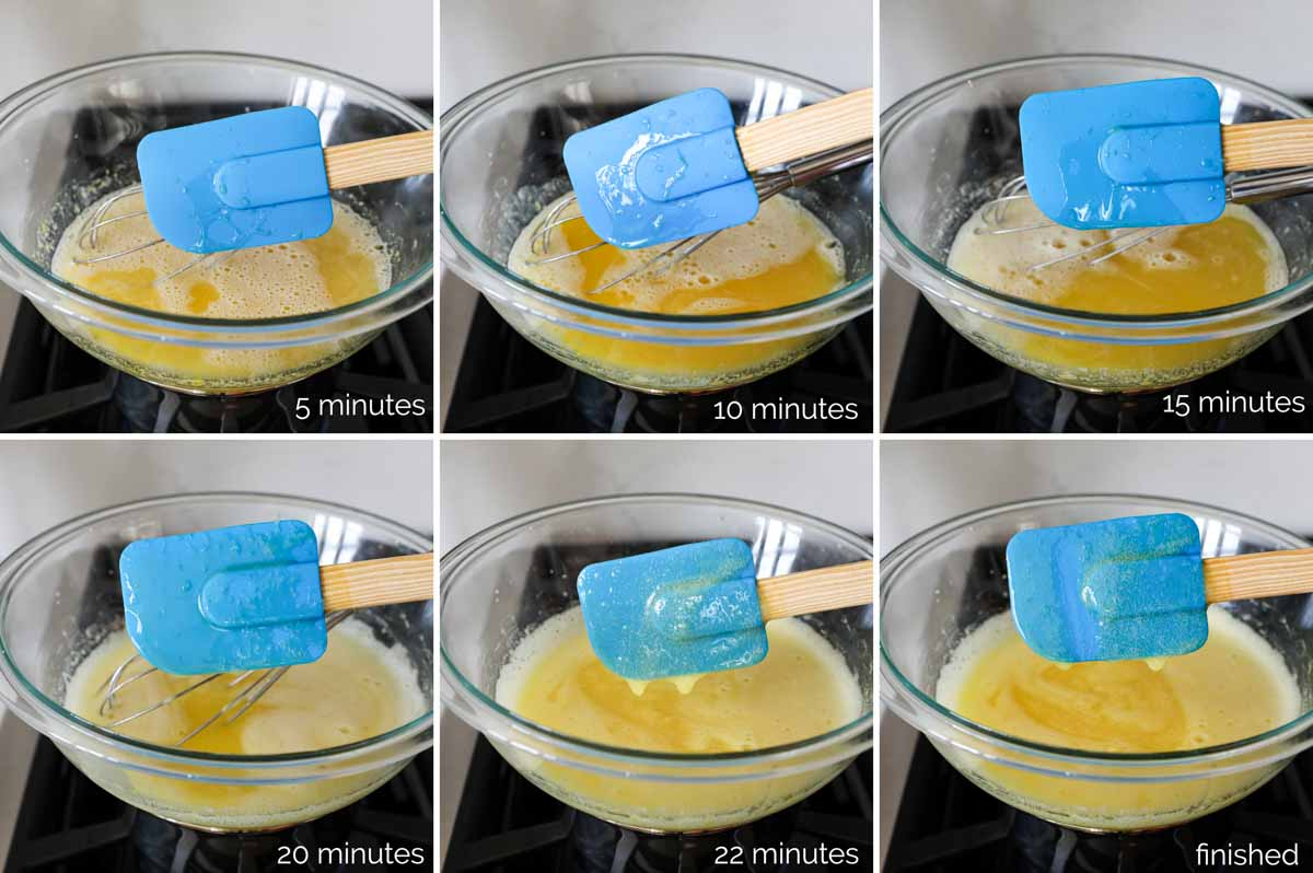 thickening lemon curd